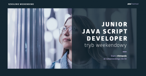 Junior Java Script Developer - Kurs weekendowy PLEO method