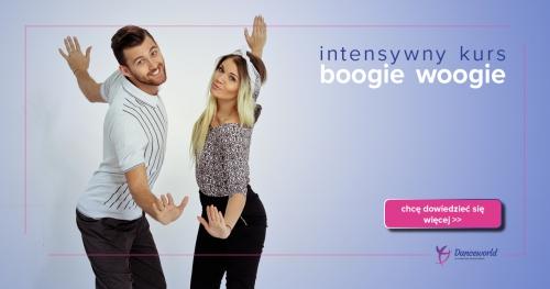 Intensywne warsztaty taneczne z Boogie Woogie - poziom początkujący