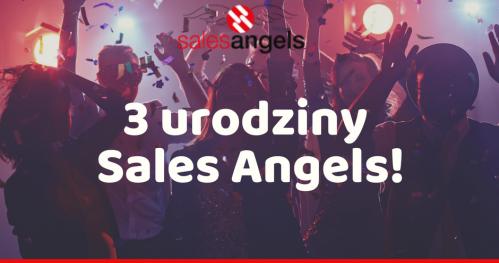 3 urodziny Sales Angels z ZEN Jaskiniowca