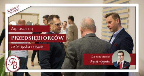 Spotkanie otwarte Towarzystwa Biznesowego Słupskiego 28.05 - zaległe płatności
