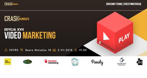CRASH Mondays № 17: Video marketing