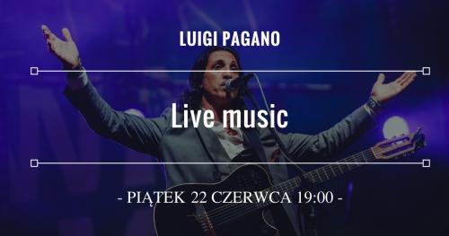 Luigi Pagano - Muzyka na żywo