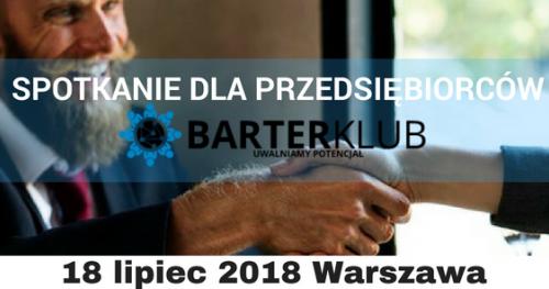 Spotkanie przedsiębiorców Barter KLUB