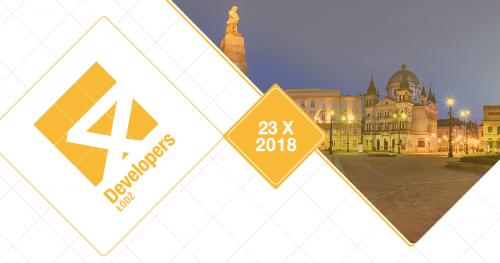 4Developers Łódź 2018