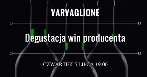 Degustacja win producenta Varvaglione