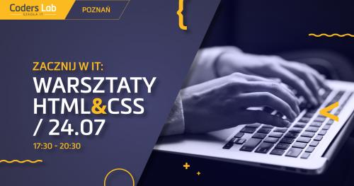 Zacznij w IT: warsztaty HTML&CSS w Poznaniu