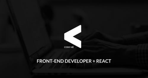 CODE:ME | Front-end Developer + React