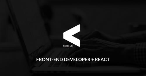 CODE:ME | Front-end Developer [React]