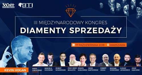 III MIĘDZYNARODOWY KONGRES DIAMENTY SPRZEDAŻY - Warszawa