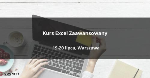 Kurs Excel Zaawansowany w Cognity - Warszawa