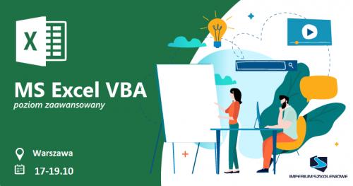 Excel VBA - Poziom zaawansowany (17-19.10)