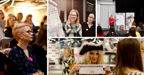 Konferencja kobiet przedsiębiorczych Spinka Biznesu