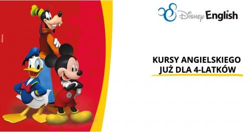 Bezpłatne warsztaty Disney English na Bemowie dla dzieci 4-8 lat