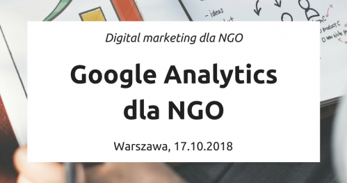 Google Analytics dla NGO
