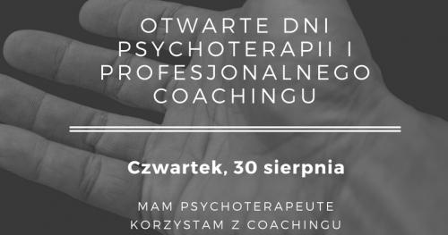 Dzień otwarty psychoterapii i coachingu - nieodpłatne konsultacje
