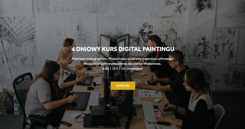 Kurs digital painting w Wejherowie!