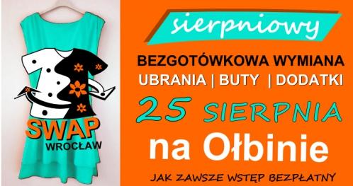 Sierpniowy SWAP Wrocław, czyli bezgotówkowa wymiana ubrań