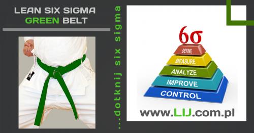 ▶ LEAN SIX SIGMA GREEN BELT (Moduł I z III, cena dotyczy całego kursu)