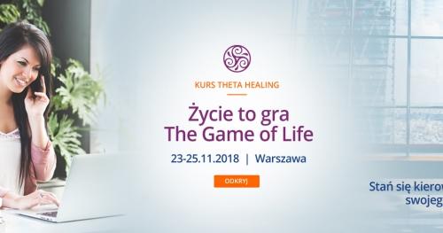 Kurs Życie to Gra Theta Healing z Anitą Putkiewicz - Theta Healing Master & Science Teacher