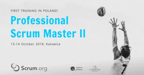 Professional Scrum Master II Training in Katowice