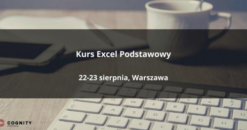 Kurs Excel Podstawowy - Warszawa