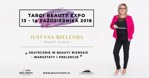 SKUTECZNIE W BEAUTY BIZNESIE  - Justyna Bielenda -