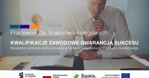 Bezpłatne szkolenie zawodowe PRACOWNIK FINANSOWO-KSIĘGOWY z darmowym kursem języka niemieckiego