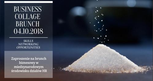 BCB - Business Collage Brunch 4.10.2018 godzina 9.00 restauracja BORPINCE w Warszawie