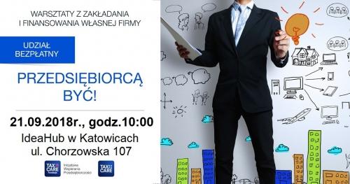 Katowice: Przedsiębiorcą być!