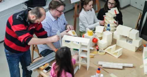 Uwaga, zabytek! Rodzinne warsztaty architektoniczne - warsztat 10.