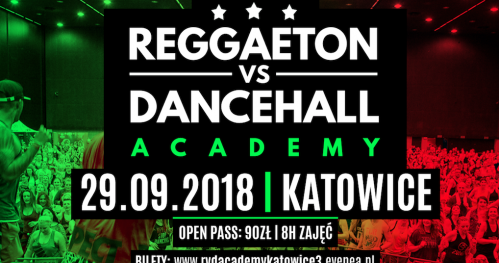 B Fit Reggaeton vs Dancehall Academy : Katowice