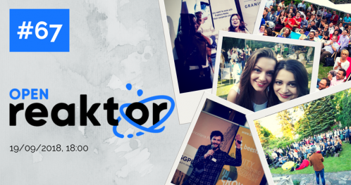 OpenReaktor #67 How to attract Talent to work for you and more! - TICKETS AT THE GATE