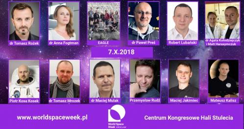 World Space Week Wrocław 2018 - Konferencja, Targi, Galeria, Pokazy