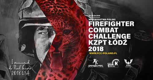 MISTRZOSTWA POLSKI - KZPT FIREFIGHTER COMBAT CHALLENGE ŁÓDŹ 2018