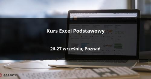 Kurs Excel Podstawowy - Poznań
