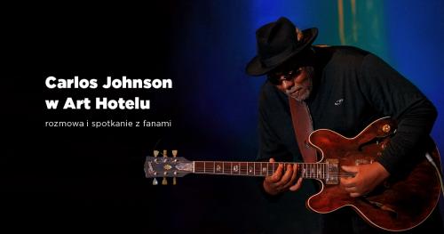 Carlos Johnson akustycznie w Art Hotelu