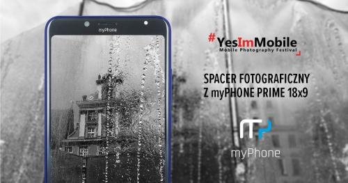 Spacer fotograficzny z myPhone | Yes Im Mobile Festival 2018