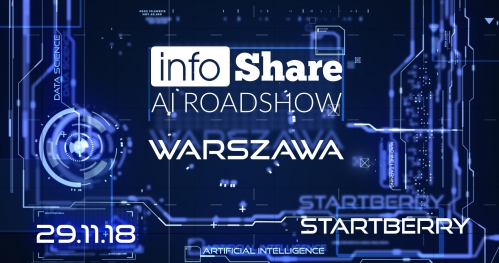 infoShare AI Roadshow - Warszawa