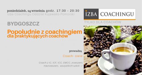Popołudnie z coachingiem dla praktykujących coachów