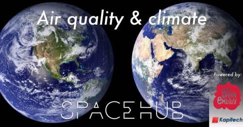 SpaceHUB #10: Air quality & climate