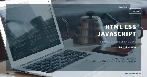 HTML I CSS I JavaScript I kurs #PLEOmethod od podstaw!