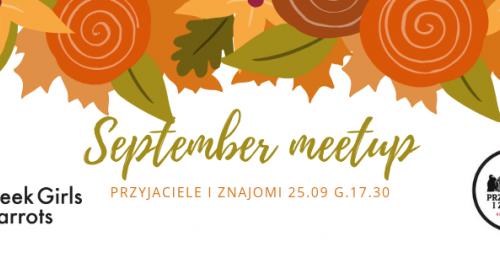 Wroclove September meetup - Geek Girls Carrots
