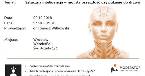 Seminarium - Sztuczna inteligencja - mglista przyszłość czy pukanie do drzwi?
