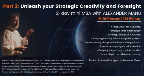 Mini-MBA WITH ALEXANDER MANU