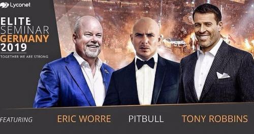 Tony Robbins, Pitbull, Eric Worre Elite Seminar 2019