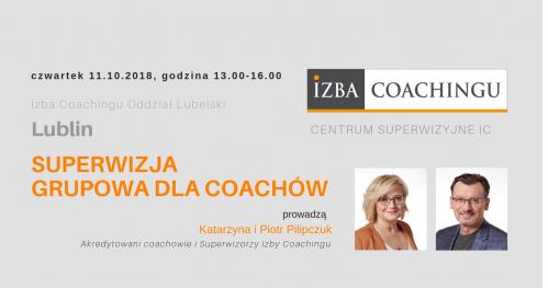 Superwizja grupowa dla coachów / Centrum Superwizyjne IC Lublin