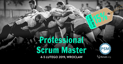Szkolenie Professional Scrum Master we Wrocławiu