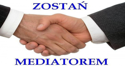 Mediator Sądowy i pozasądowy- OKAZJA - certyfikowany kurs kompleksowy z dofinansowaniem do 80 % z UE