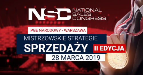 National Sales Congress 2019 - Mistrzowskie Strategie Sprzedaży