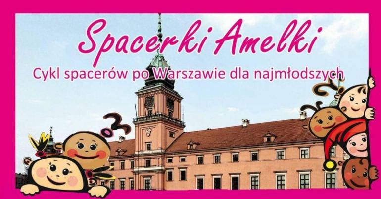 Spacerki Amelki łazienki Królewskie Cz1 Kultura I